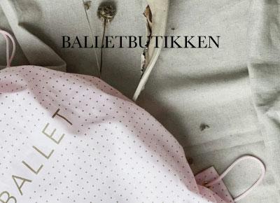 Balletbutikken - vi står på tæer for dig
