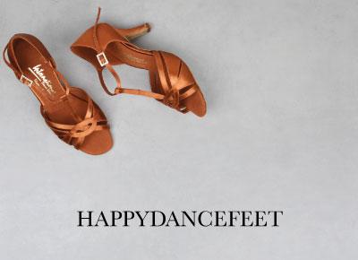 Happydancefeet - Dansesko til glade dansere